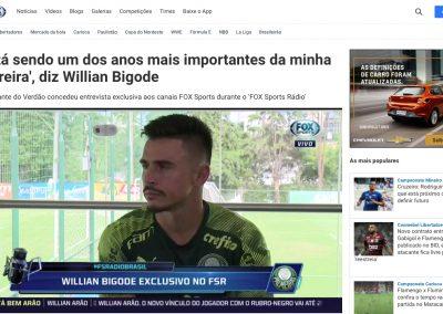 Willian - Fox Sports - 30/01/2020