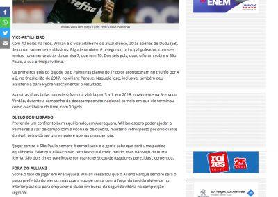 Willian - Futebol Interior - 25/01/2020