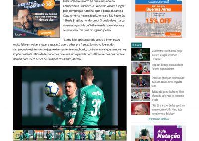 Willian - Gazeta Esportiva - 13/07/2019