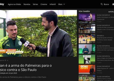 Willian - Globo Esporte - 24/01/2020