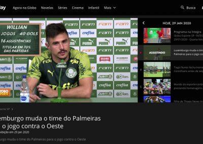 Willian - Globo Esporte - 29/01/2020