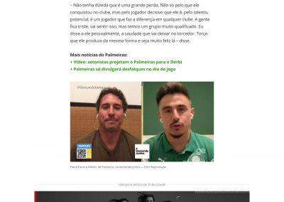 Willian - Globoesporte.com - 16/07/2020