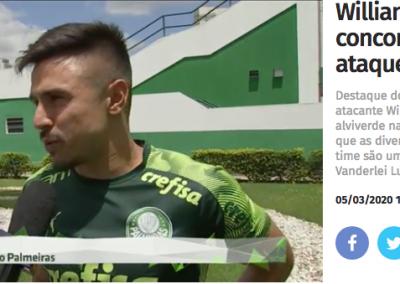 Willian - Jogo Aberto - 05/03/2020