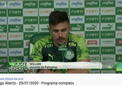 Willian - Jogo Aberto - 29/01/2020