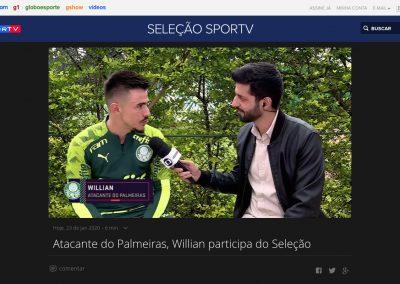Willian - Seleção Sportv - 23/01/2020