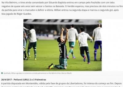 Willian - Globo Esporte.com - 07/09/2017