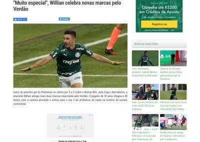 Willian - Verdão Web - 01/10/2020