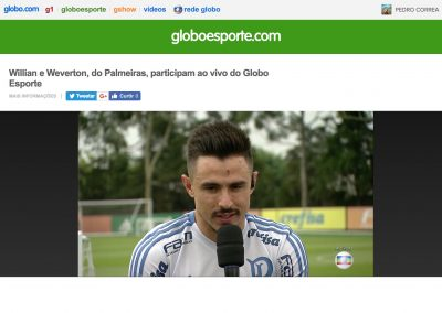 Willian - Globo Esporte - Dezembro/2018