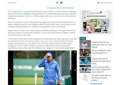 Willian - GazetaEsportiva.com - 30/05/2018