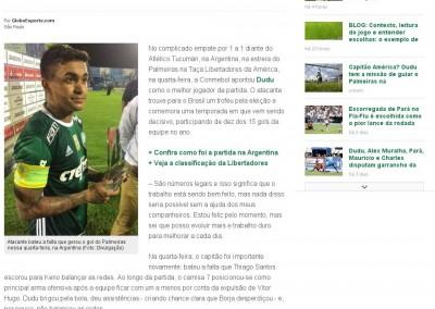Dudu - GloboEsporte.com - 09/03/2017