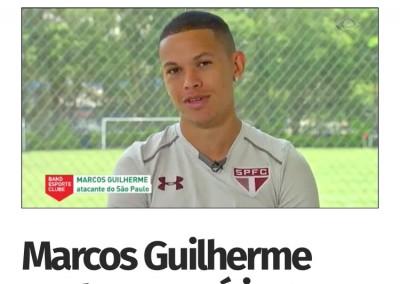 Marcos Guilherme - Band Esporte Clube - 12/11/2017