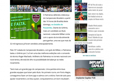 Willian - GazetaEsportiva.com - 13/10/2018