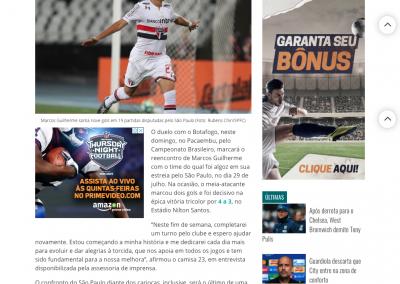 Marcos Guilherme - Gazeta Esportiva - 18/11/2017