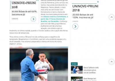 Marcos Guilherme - Gazeta Esportiva - 27/01/2018
