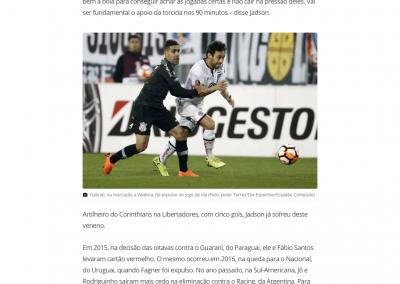Jadson - GloboEsporte.com  - 28/08/2018