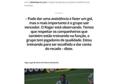 Keno - GloboEsporte.com - 21/03/2018