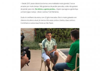 Dudu - GloboEsporte.com - 03/02/2018
