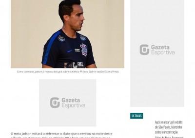 Jadson - Gazeta Esportiva - 14/07/2017