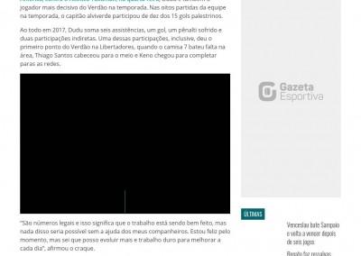 Dudu - GazetaEsportiva.com - 09/03/2017