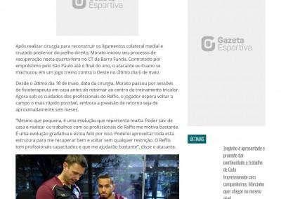 Morato - Gazeta Esportiva - 31/05/2017