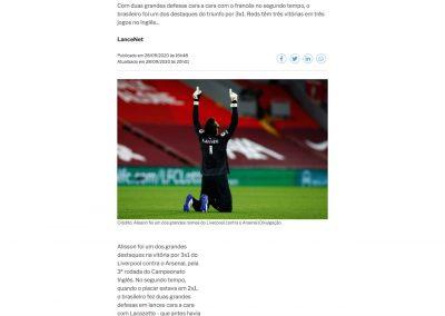 Alisson - A Gazeta - 28/09/2020