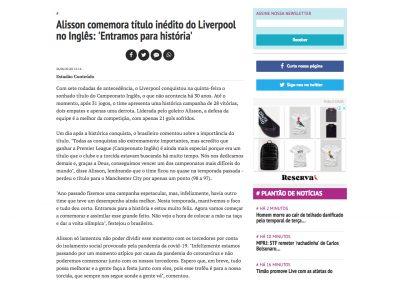 Alisson - Bem Paraná - 26/06/2020