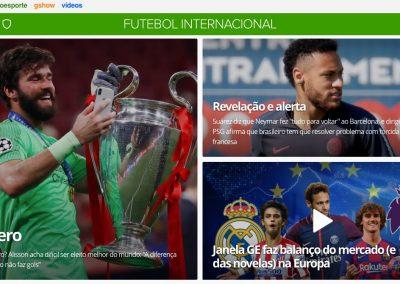Alisson - Destaque Globoesporte.com - 04/09/2019
