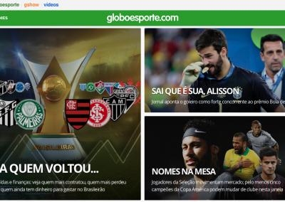 Alisson - Destaque Globoesporte.com - 09/07/2019