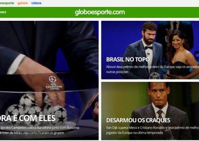 Alisson - Destaque Globoesporte.com - 29/08/2019