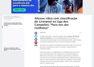 Alisson - ESPN - 11/03/2021