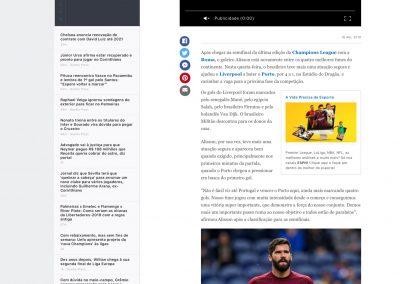 Alisson - ESPN - 18/04/2019