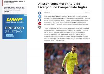 Alisson - ESPN - 26/06/2020