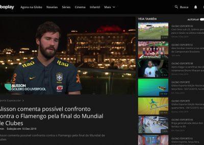 Alisson - Esporte Espetacular - 08/12/2019