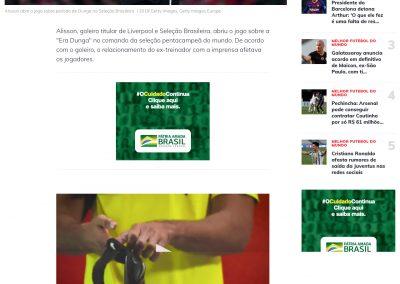 Alisson - Esporte Interativo - 01/08/2020