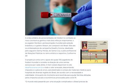 Alisson - Folha Vitória - 29/03/2020