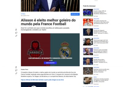Alisson - Fox Sports - 02/12/2019