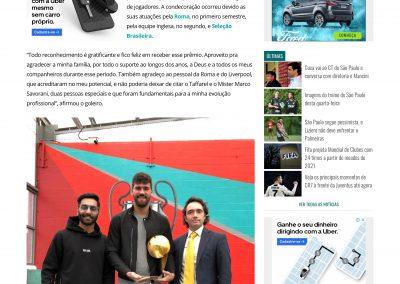 Alisson - Gazeta - 08/03/2019