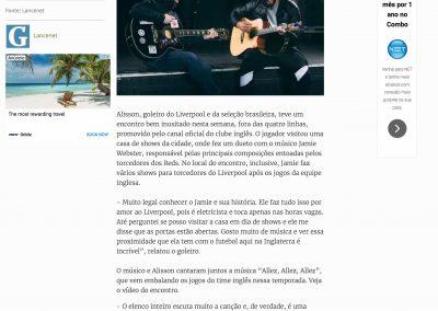 Alisson - Gazeta - 15/02/2019