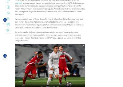 Alisson - Gazeta Esportiva - 08/04/2021