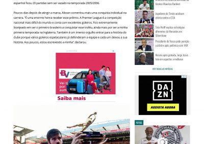 Alisson - Gazeta Esportiva - 14/05/2019
