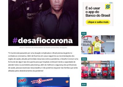 Alisson - Gazeta Esportiva - 29/03/2020