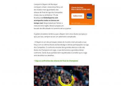 Alisson - GloboEsporte.com - 18/02/2019