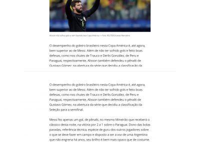Alisson - Globoesporte.com - 02/07/2019
