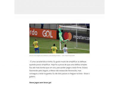 Alisson - Globoesporte.com - 03/07/2019