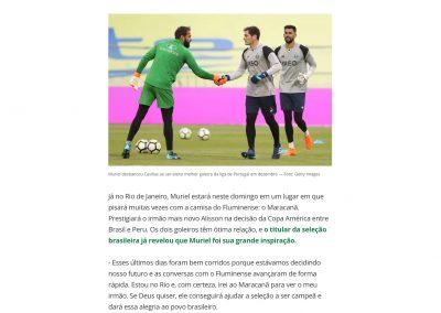 Alisson - Globoesporte.com - 07/07/2019