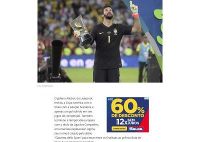 Alisson - Globoesporte.com - 09/07/2019