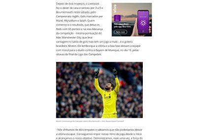 Alisson - Globoesporte.com - 11/02/2019