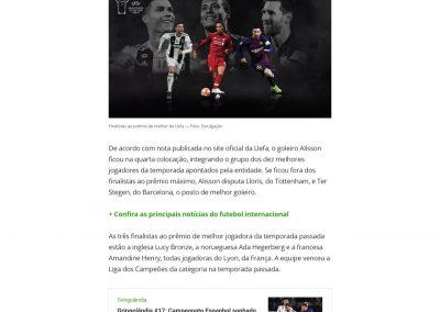 Alisson - Globoesporte.com - 15/08/2019