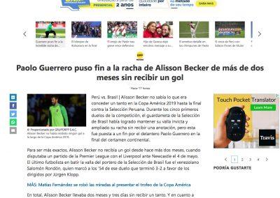 Alisson - MSN (Peru) - 07/07/2019