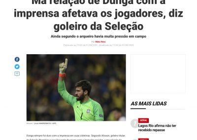Alisson - Meia Hora - 01/08/2020